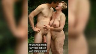 Horny step family members fuck each other