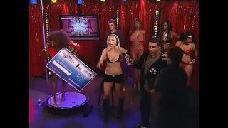 Miss Black Howard Stern beauty pageant lesbian kissing