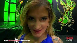 Monster Cock destroying Adreena Winters Ass