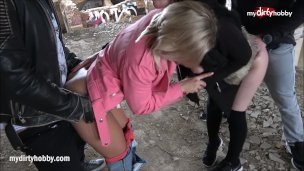 My Dirty Hobby – Outdoor orgy is fun!