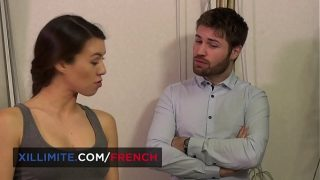Tiffany Doll French new sexy intern, anal sex at work